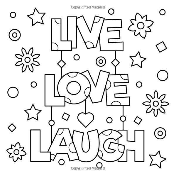Amazon Com Wild And Free Inspiring Words Coloring Book Cute Positive Word Coloring Book For Quote Coloring Pages Coloring Pages Inspirational Coloring Pages