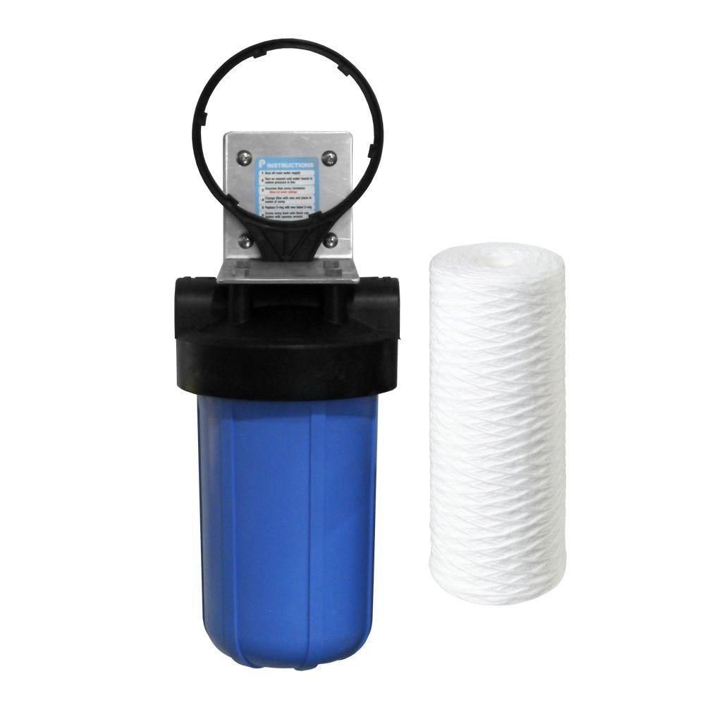 Pelican Water 10 In 5 Micron Sediment Filter System Thd Bb10 The Home Depot Water Purification System Water Filtration System Water Purification