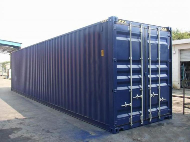 Cube moving containers