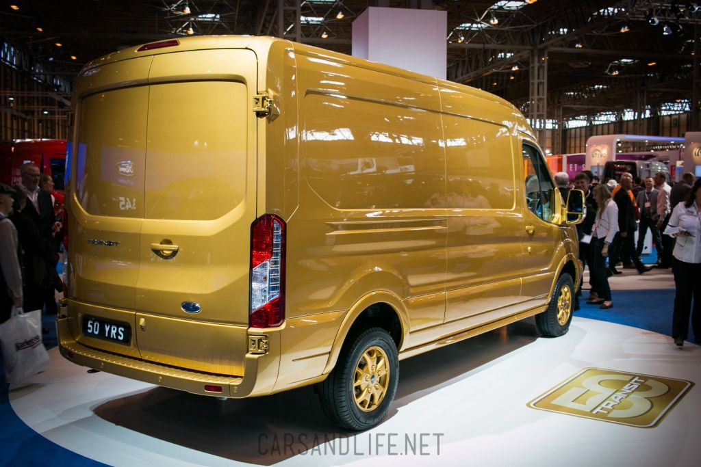 Gold Ford Transit 50 Years