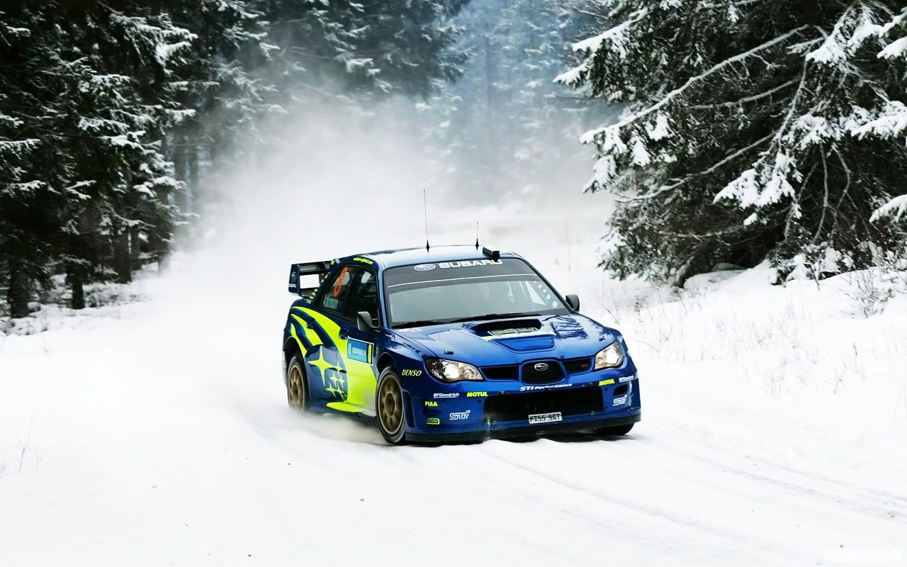 Subaru Wrx Sti Rally Snow Hd Cars Snow Subaru Rally Wrx Sti 720p Wallpaper Hdwallpaper Desktop