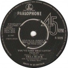 """7"""" 45RPM You've Lost That Lovin' Feelin'/Is It Love? by Cilla Black from Parlophone"""