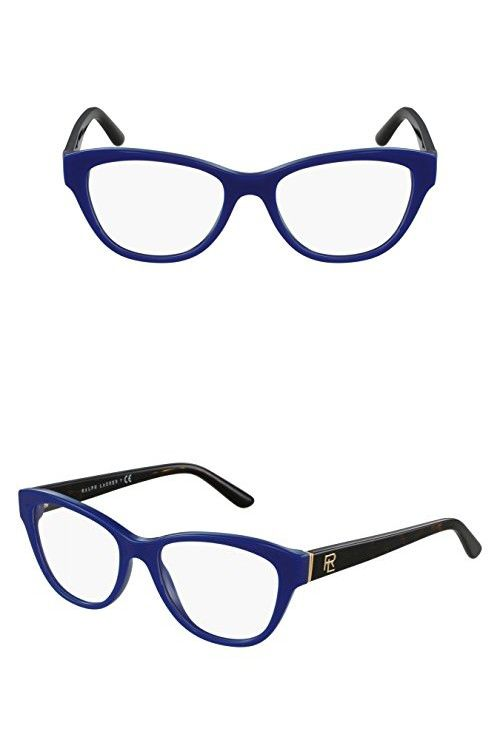 Ralph Lauren RL6145 Eyeglass Frames 5547-52 - Shiny Navy Blue ...