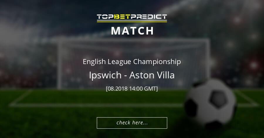 Best Sure Win Football Predictions 1x2 Ipswich vs Aston Villa 18