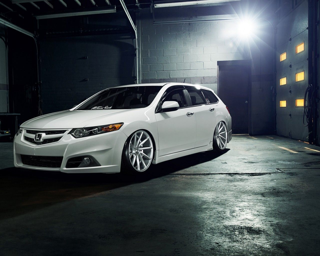 Custom acura tsx wagon 2 tuning