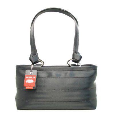 Harveys Original Seatbelt Bags Carriage Non-Woven Large Satchel Storm