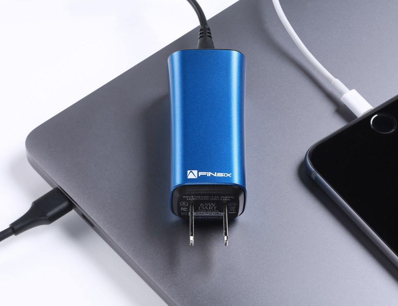 DART-C Smallest Laptop Charger is five times smaller than the ones available in the market today.