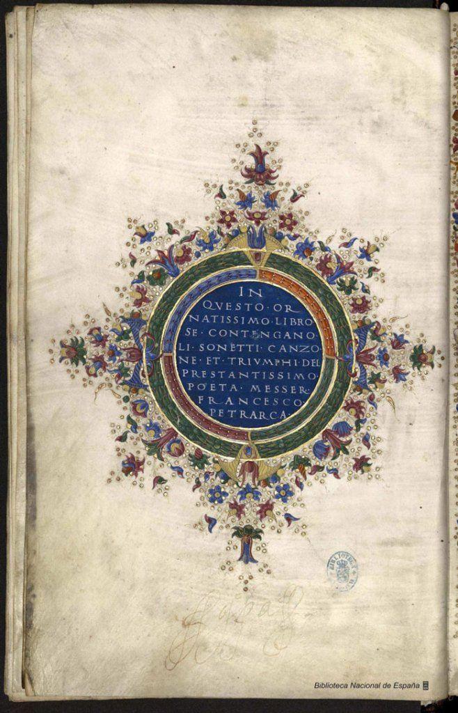 Poetic Works by Francesco Petrarca