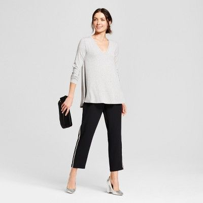 Women's Long Sleeve Swing Tunic - A New Day Gray Xxl