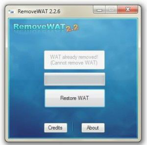 removewat windows 7 clubic