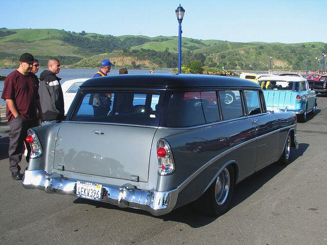 1956 Chevrolet 210 Wagon Custom 4ekv396 2 Chevrolet Wagon