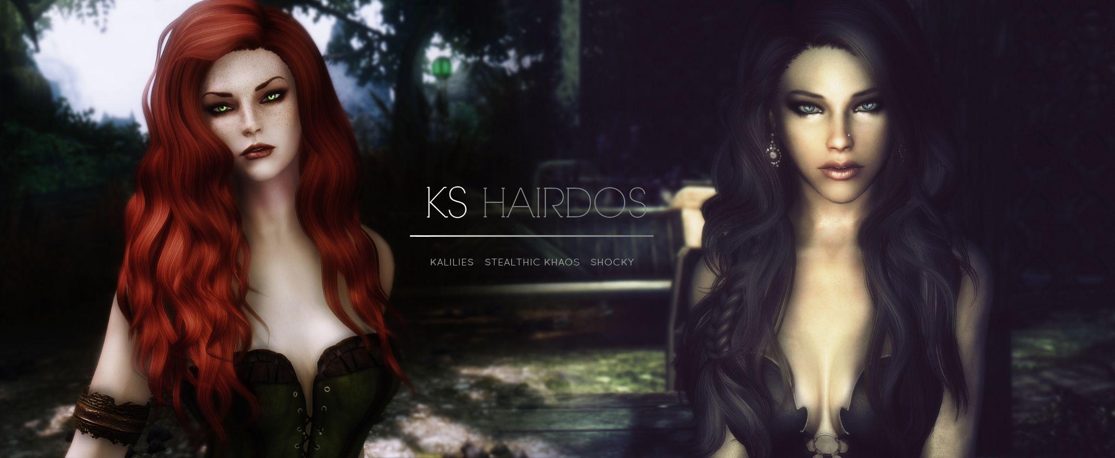 KS Hairdos - Renewal at Skyrim Nexus - mods and community