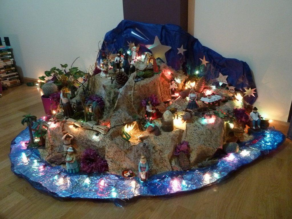 Resultado de imagen para mejores pesebres navide os for Como hacer arreglos de navidad