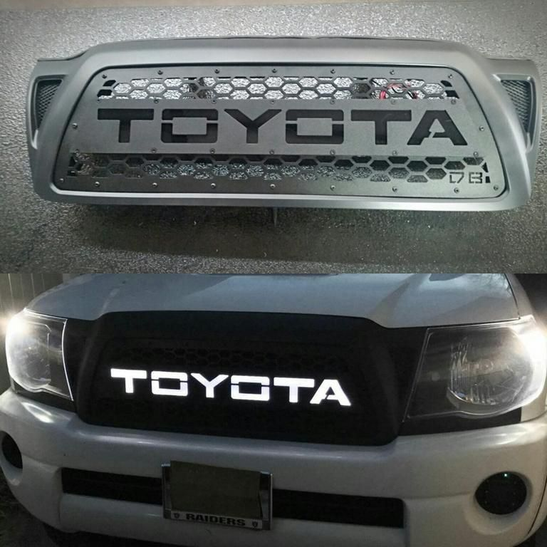 2005 2011 Tacoma Grille Insert Trd Style Led Night Glow