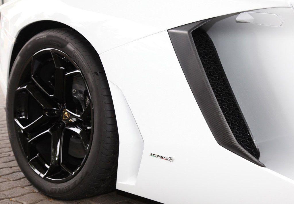 Lamborghini Aventador 2011 Fender vent Carbon Fiber