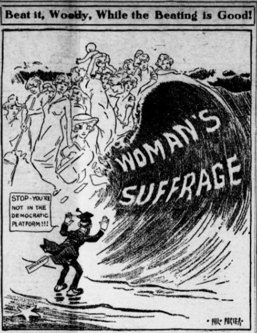Woman Suffrage Movement Political Cartoons