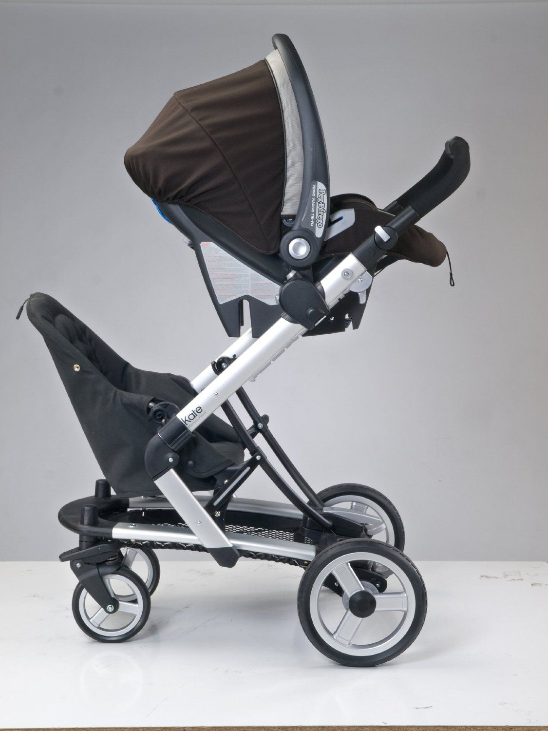 Peg Perego Stroller For Twins Amazon Peg Perego Skate Jumper Seat Black Baby For