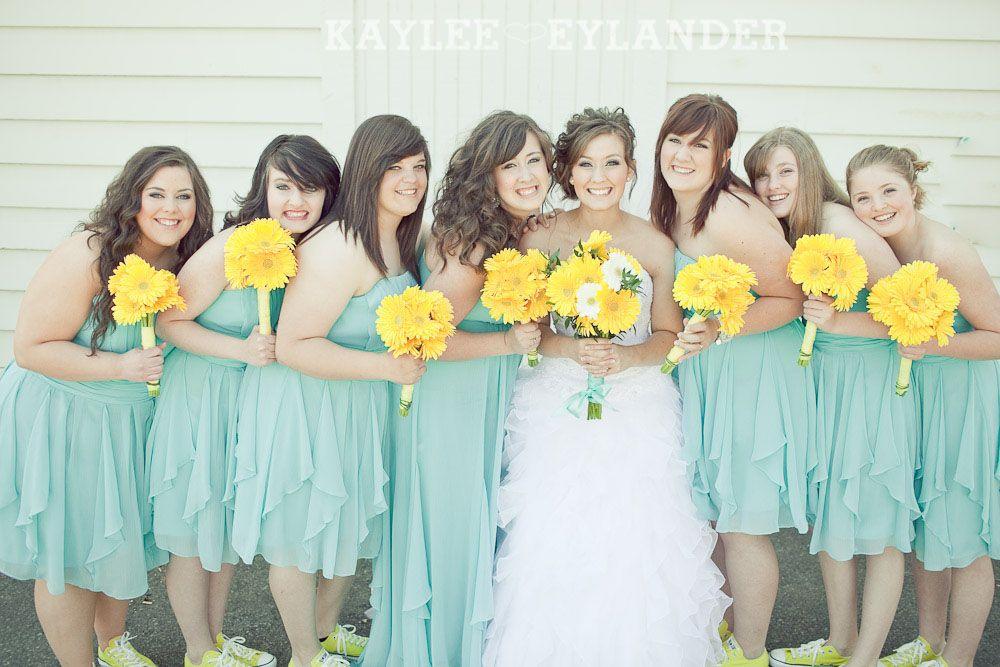 Turquoise And Yellow Wedding Ideas: Turquoise & Yellow Wedding