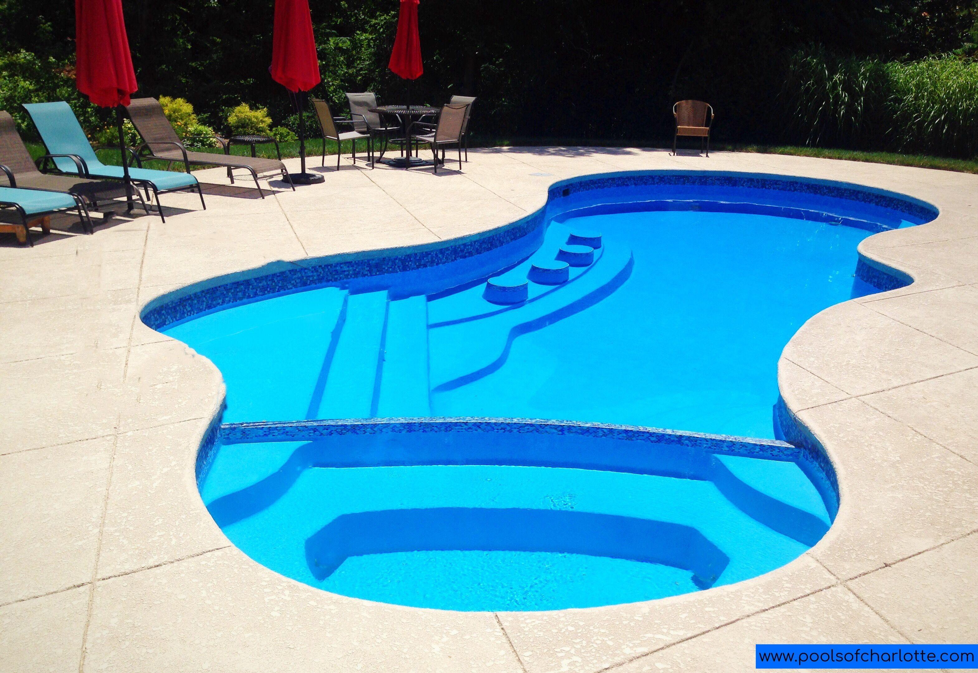 inground pool sizes - Google Search in 2020 | Fiberglass ...