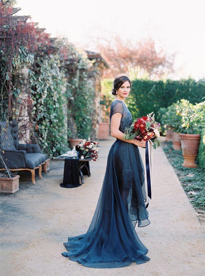 Jewel Tone Wedding in Wine Country   Boda