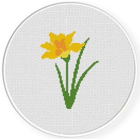 Flower – Daily Cross Stitch