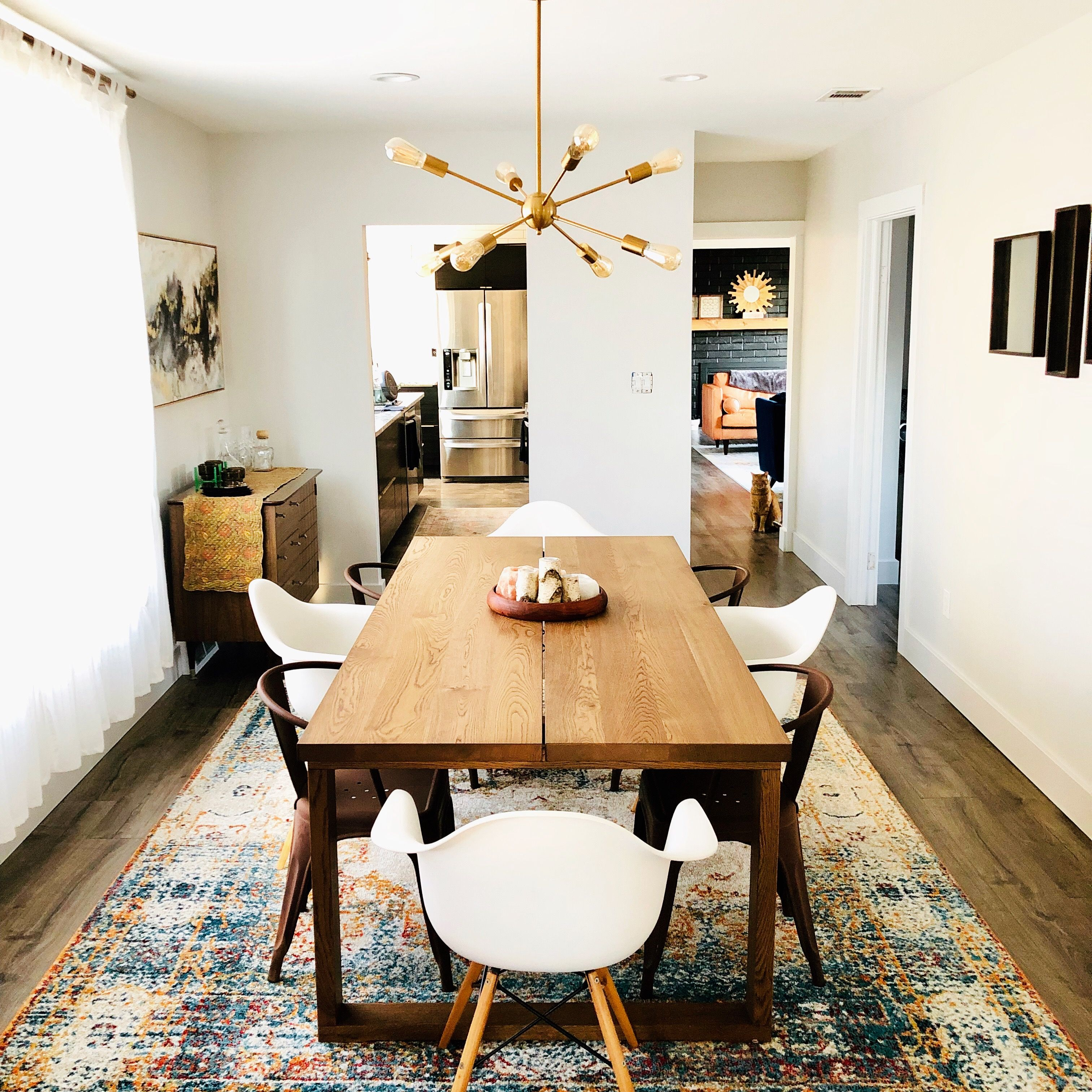 Dining Room Spot A Nugget Metal Cafe Chairs Home Living Room Dining Table