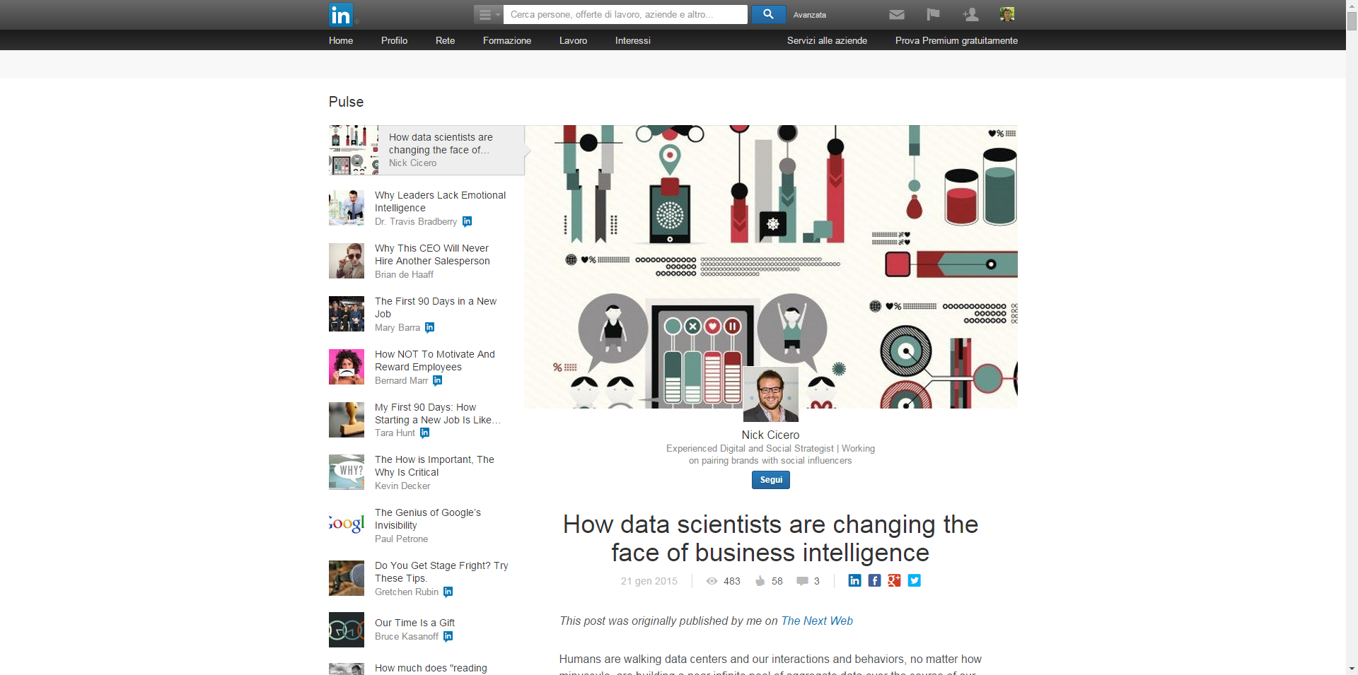 How Data Scientists Are Changing The Face Of Business Intelligence