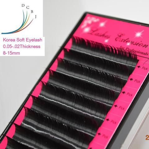 61fdbb70cd6 False Eyelashes, 3D Russian Volume Mink Individual Lashes Extensions All  size B/C/D Curl Eyelashes,natural soft eyelashes