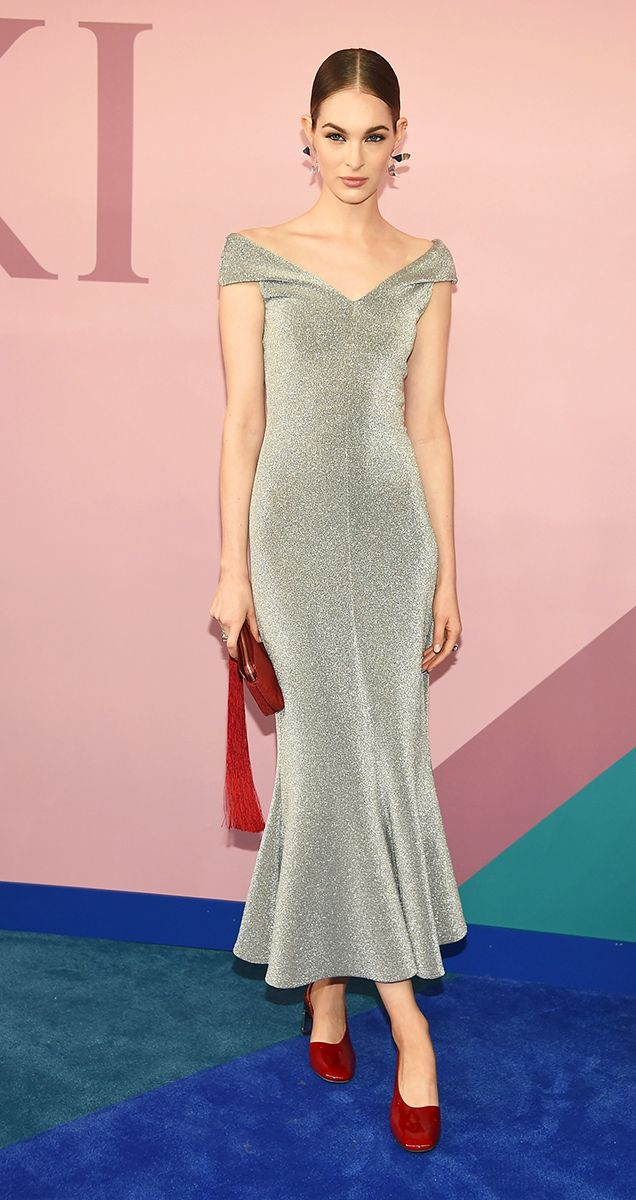 All The Gorgeous Celebrity Looks From The CFDA Awards | Vestido ...