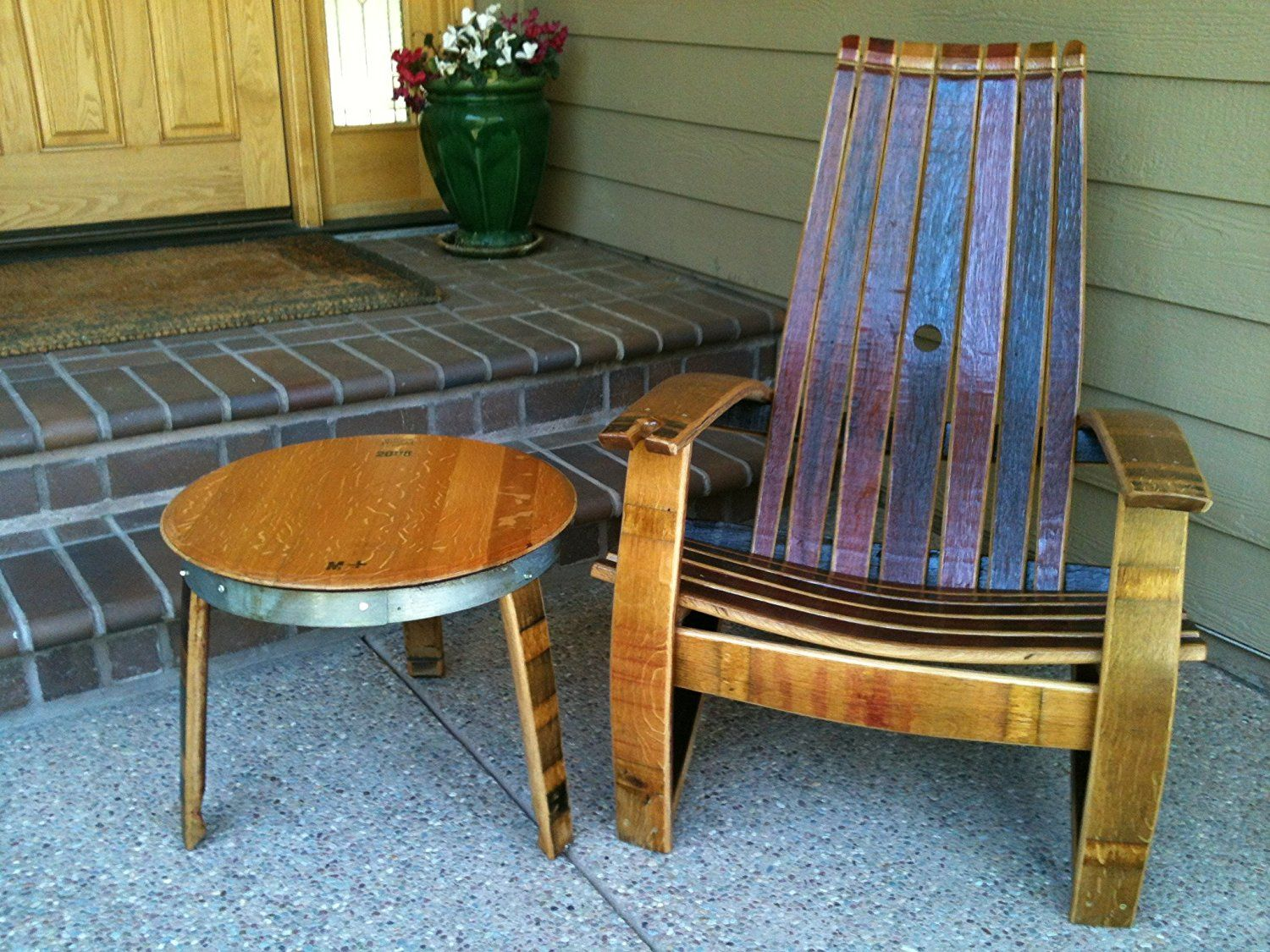 wine barrel outdoor furniture. Wine Barrel Outdoor Furniture - Cool Rustic Check More At Http://cacophonouscreations.com/wine-barrel-outdoor-furniture/ C