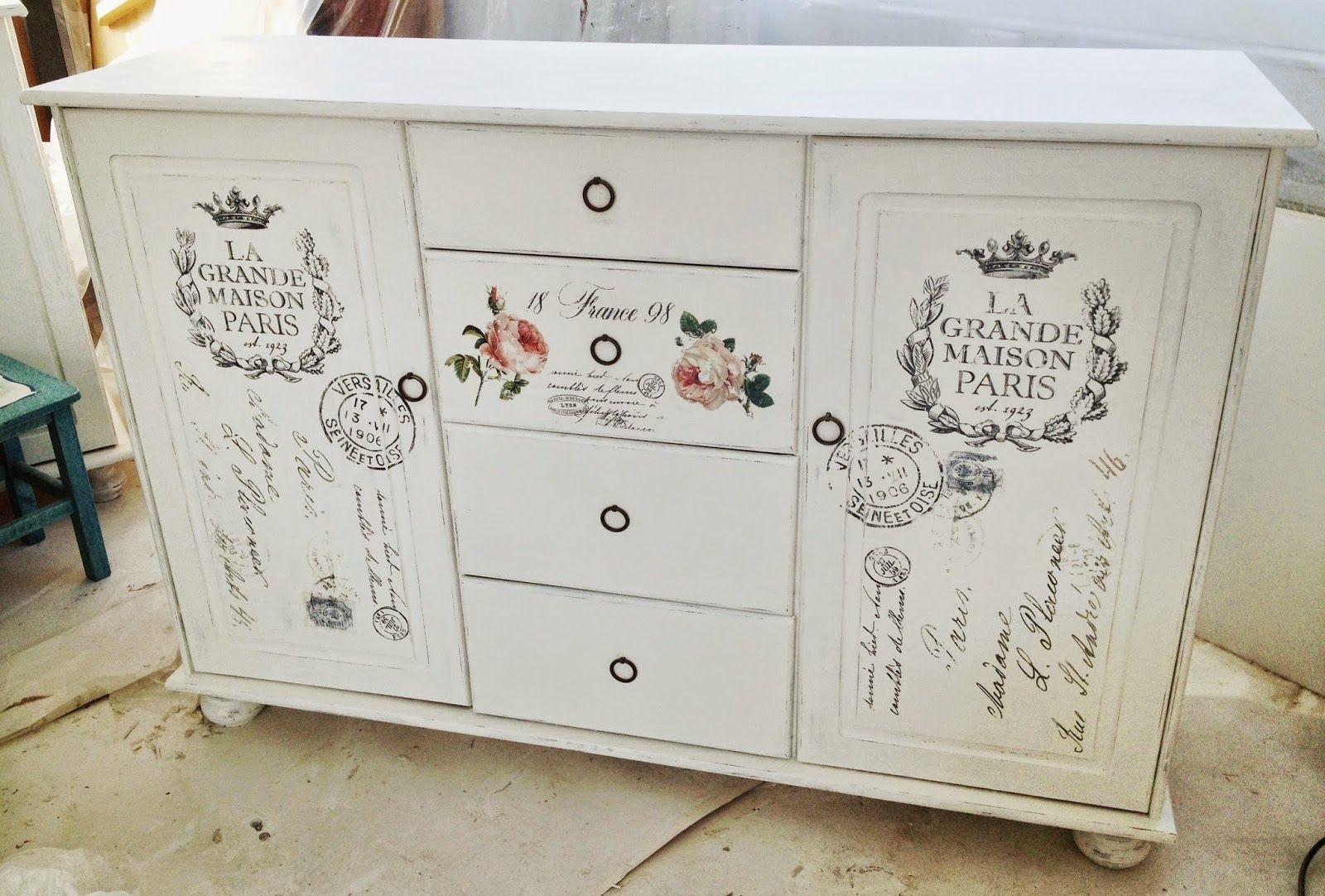 Himlarum m bler shabby chic pinterest for Pinterest meubles peints
