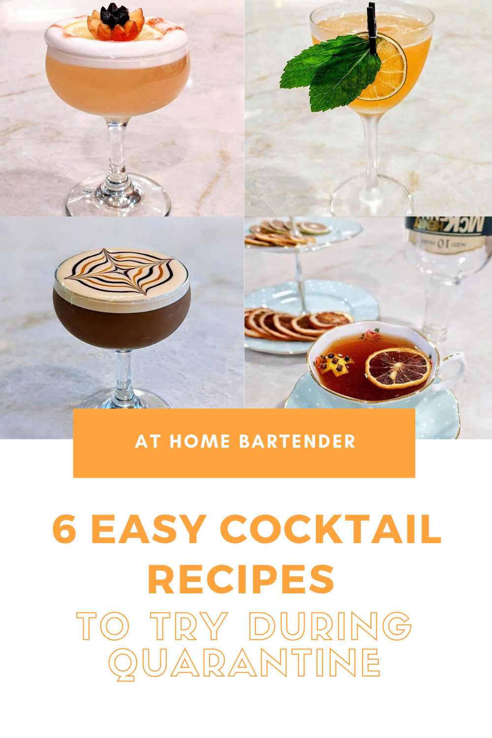 How To Make A Quarantini 5 Other Easy Recipes In 2020 Cocktail Recipes Easy Easy Cocktails Fall Cocktails Recipes