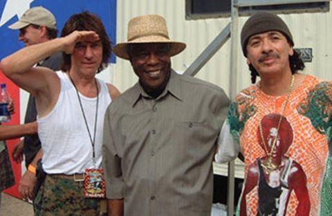 Jeff Beck, Buddy Guy & Carlos Santana