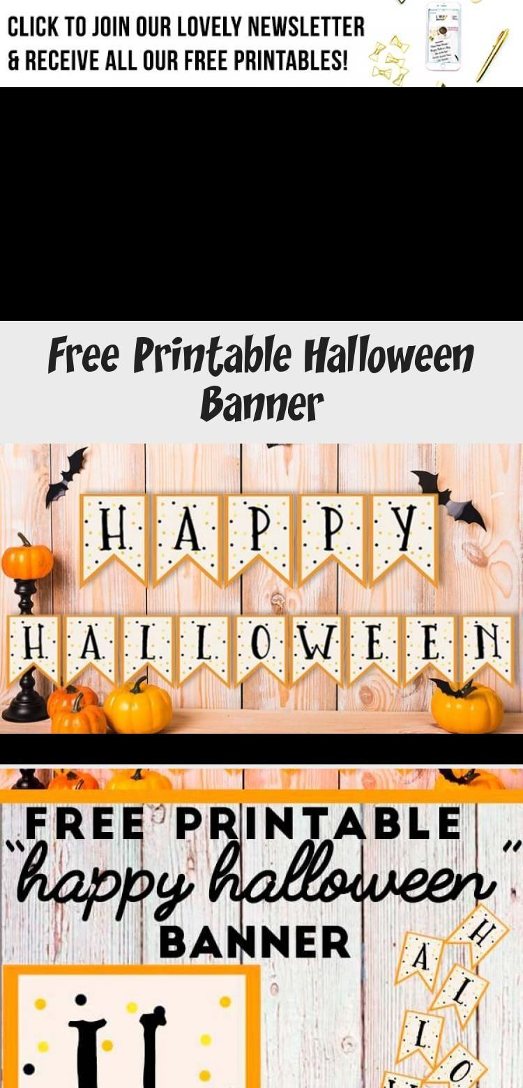 Free Printable Halloween Banner: Happy Halloween + blank banner pennants in case you'd like to customize it with your own text. #halloween #banner #homedecor #freeprintable #lovelyplanner #Eventbanner #bannerTitulos #bannerIdeas #bannerArt #bannerImprimible #happyhalloweenschriftzug Free Printable Halloween Banner: Happy Halloween + blank banner pennants in case you'd like to customize it with your own text. #halloween #banner #homedecor #freeprintable #lovelyplanner #Eventbanner #bannerTitulos #happyhalloweenschriftzug