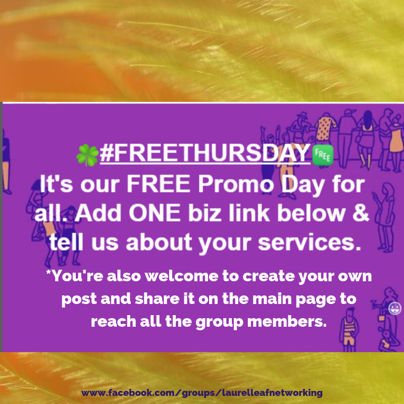 It S Our Free Advertising Day For Everyone Over On Our Business And Networking Group If Yo Business Networking Free Advertising Promote Your Business