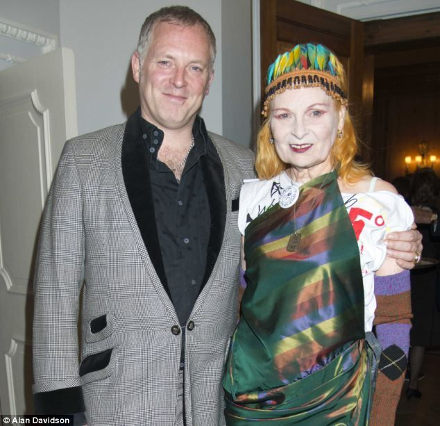 16ea0e0fad0 Dame Vivienne Westwood, seen with her son Joe Corre, says McLaren was  competitive with his own son