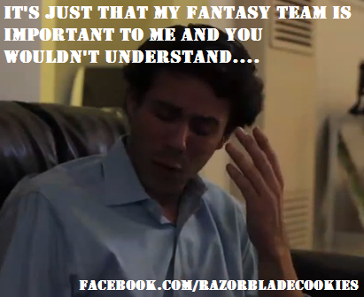 Funny Memes For Guy Friends : Fantasyfootball helps me prove to my friends i know what i m