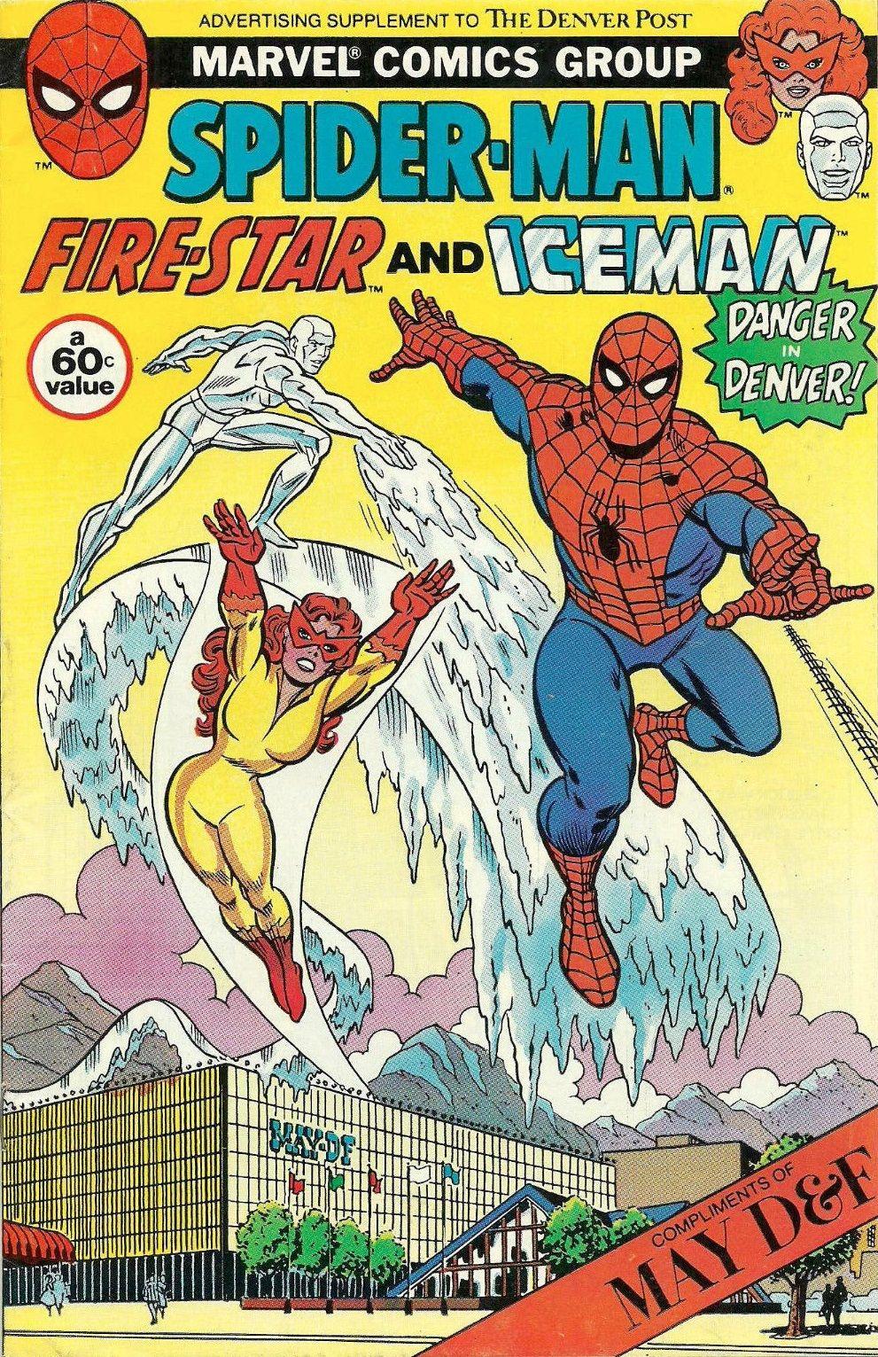 The Marvel Comics Of The 1980s 1983 Anatomy Of A Cover Denver Post Spider Man Comics Marvel Comics Superheroes 80s Cartoons