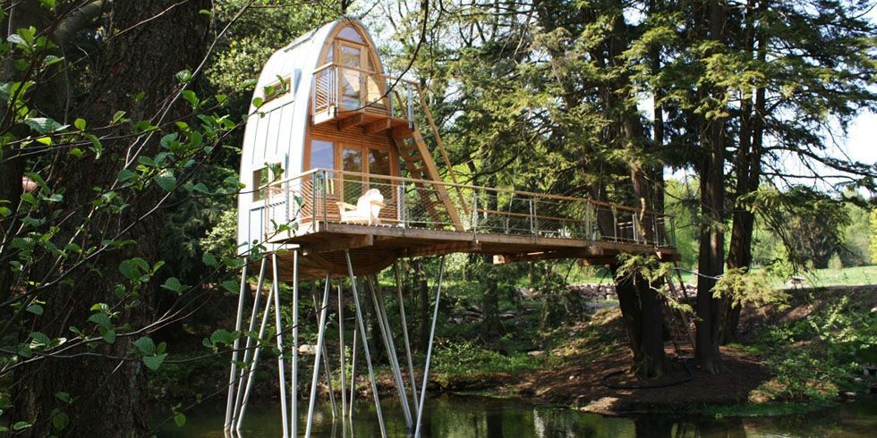 House These Incredible Treehouses Are for Grown Ups