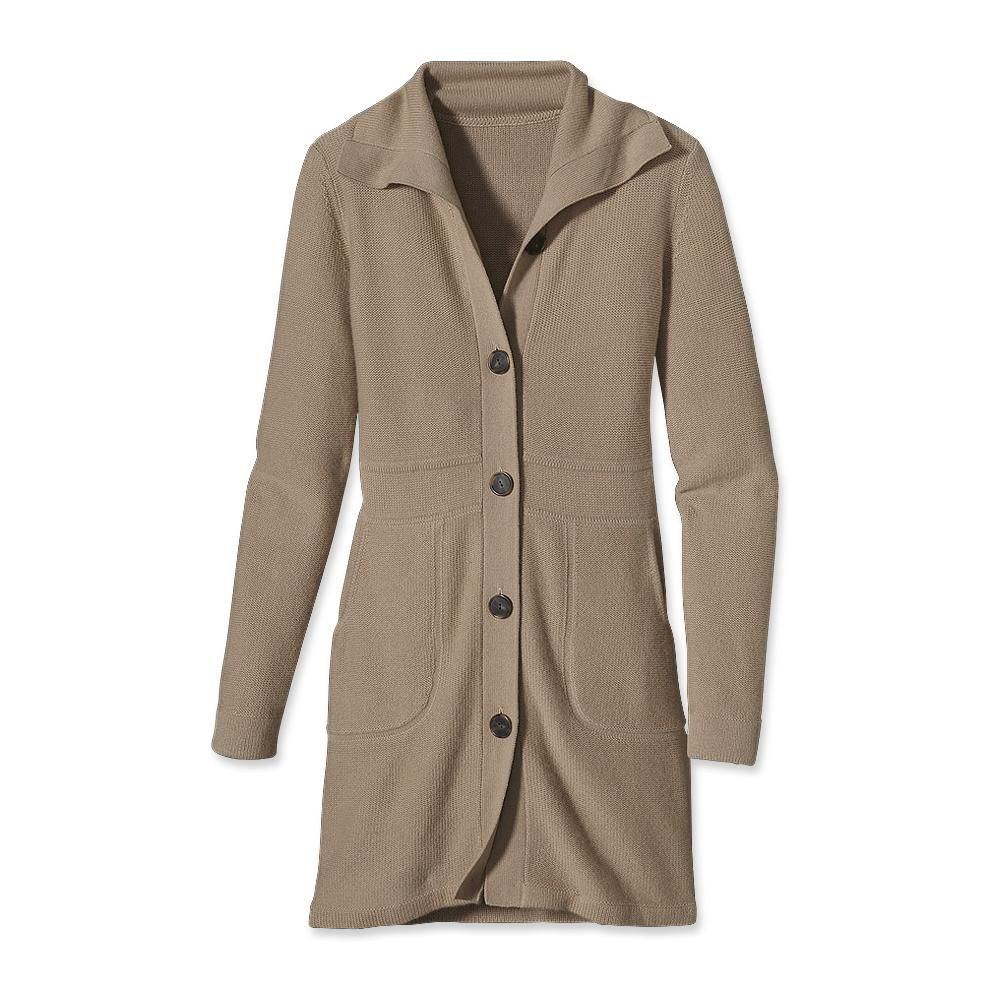 Patagonia Women's Cashmere Sweater Coat | Active Wear | Pinterest ...