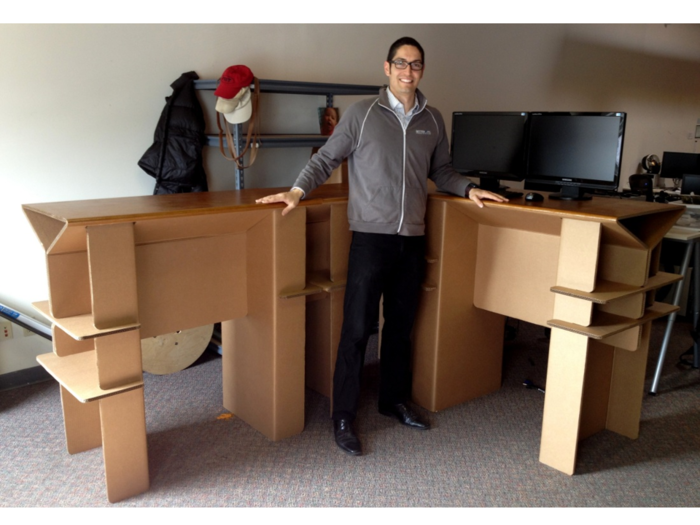 The Cardboard Standing Desk: Stand Up For Creativity By Chairigami U2014  Kickstarter