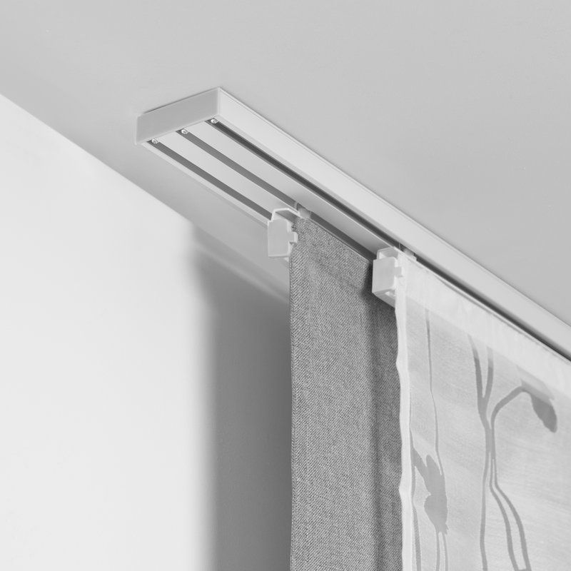 Ceiling Curtain Track, Curtains