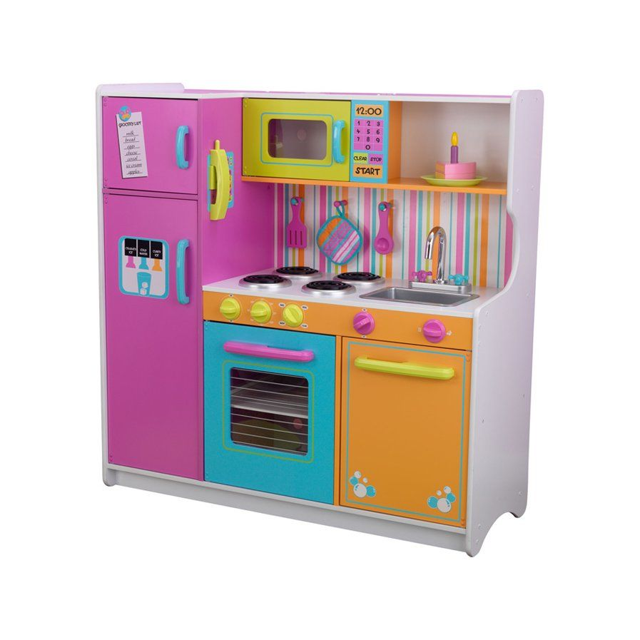 Deluxe Big Bright Kitchen Play Set Arabella Birthday