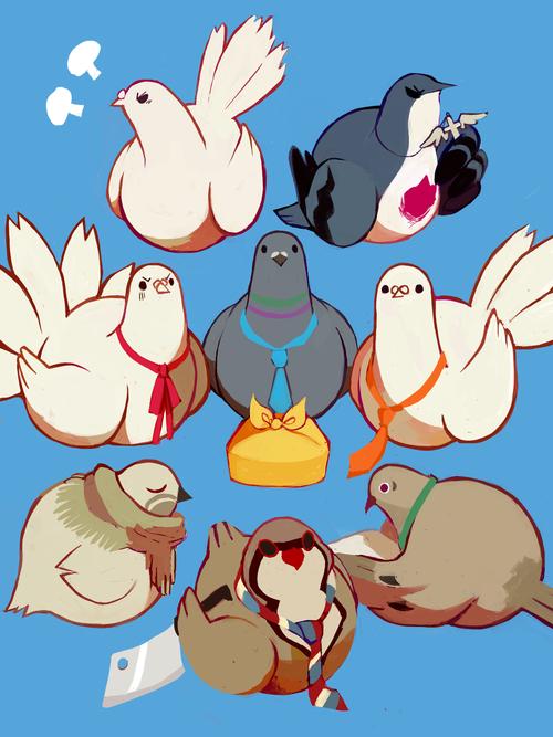 japanese dating sim pigeons