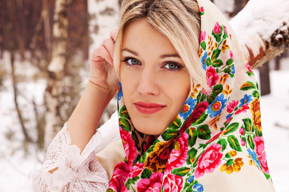 Красивые фото русских красавиц 2