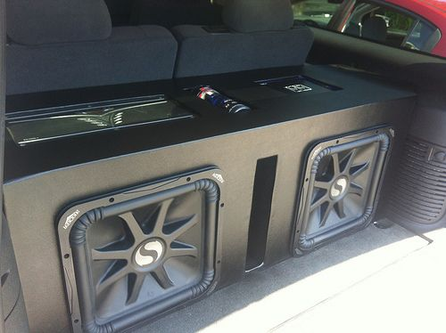 "15"" Kicker L7 Custom Box Car audio, Car audio systems"