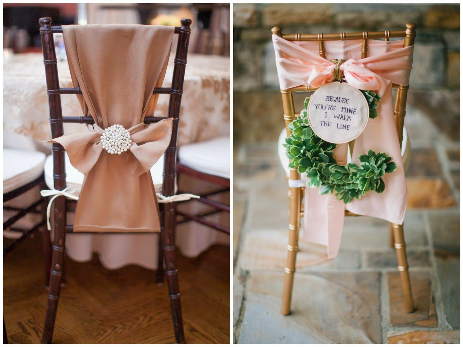 Sillas decoradas con telas boda pinterest sillas boda ideas y sillas decoradas - Sillas para bodas ...