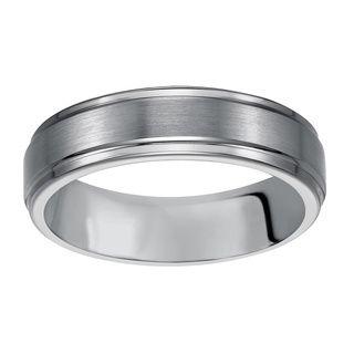 Carbon wedding bands men