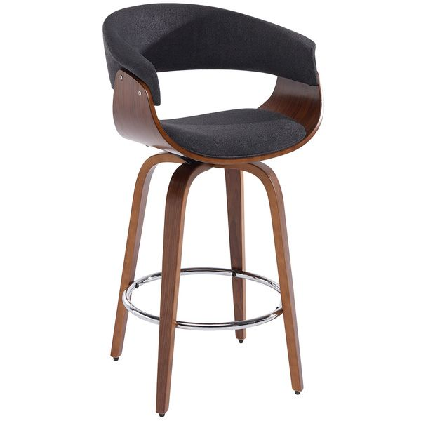 Holt Bentwood Grey Fabric 26 Inch Counter Stool Dining Stools