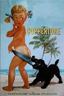 Coppertone Advertising in the 60s